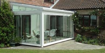 framelessDG conservatory 1 Finlinedoors